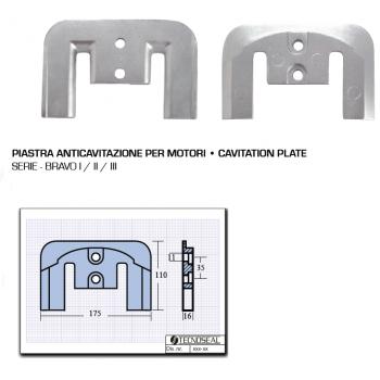 Anti-Kavitationsplatte für Bravo I II III-Motoren