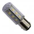 15 LED-Lampe BAY15D 10-30V Phasenförmige Pole